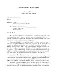 Authorization Letter Sample For Claiming Back Pay Personal Injury Claim Letter
