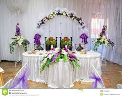 wedding table decoration wedding table decoration and groom stock photo image of