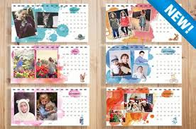 magical watercolor desk calendar templates u2013 discovery center store