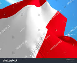 austrian flag 3d waving flag design stock illustration 703722406