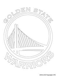 lakers coloring pages golden state warriors logo nba sport coloring pages printable
