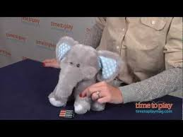 dolls u0026 bears bears find cuddle barn products online at elliot elephant from cuddle barn youtube