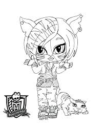 monster high coloring pages baby abbey bominable monster high coloring pages baby marijuanafactorfiction org
