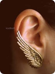 wing earrings graceful feather angel wings rhinestone earrings only 10 99