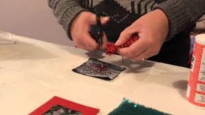 Stick Paper How To Bond Or Stick Creative Fabric Paper Card Miniature