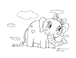 coloring pages elephant and piggie piggie and elephant coloring pages elephant coloring pages cute