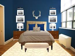 decorations handsome refreshing blue bedroom walls elegant and