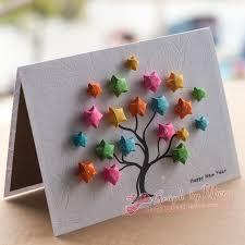 Wishing Tree Cards Free Shipping High Quality Greeting Card Gift Handmade Greeting