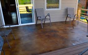 How To Remove Spray Paint From Concrete Patio How To Acid Stain Concrete