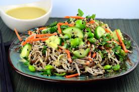 kosher noodles soba noodles with white miso dressing