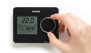 tempo programmable thermostat for underfloor heating warmup