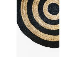 Black Circle Rug Mocka Circa Rugs Home Decor Mocka