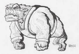 doodle 272 u2013 weird creature doodle a day