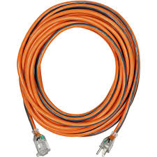 ridgid 25 ft 12 3 sjtw extension cord with lighted plug 757