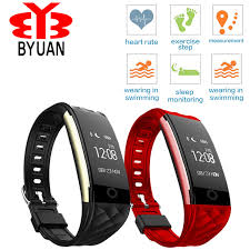 heart monitor bracelet iphone images S2 smart band music control bracelet wristband heart rate ip67 jpg