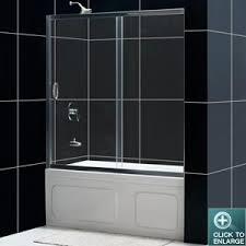 dreamline showers infinity shower door frameless bathtub door