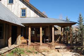 galvanized roofing porch traditional with landscaping outdoor
