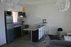 meuble de cuisine bar meuble cuisine bar frais ilot central noir et bois clair 3 déco