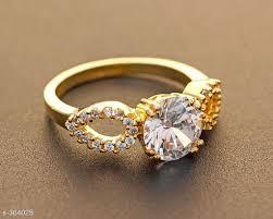 stone finger rings images Stone work alloy finger rings lowest rate jpeg