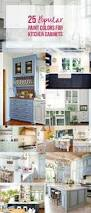 Paint Color For Kitchen by 25 Popular Paint Colors For Kitchen Cabinets Happily Ever After