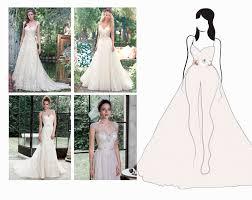 best wedding dress for pear shaped flattering wedding dresses for your frame maggie maggie