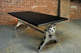 crank table base for sale industrial crank table base superhuman wood metal cast home interior