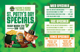 st patricks day specials 2017 natures herbs and wellness