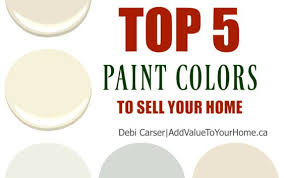 best paint colors 2017 2017 top 5 paint colors to sell your home add value to your home