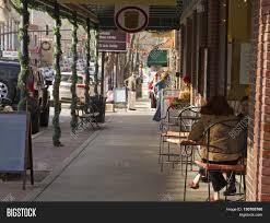 brevard north carolina usa december 11 2015 downtown street