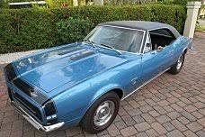 1967 thru 1969 camaros for sale chevrolet camaro classics for sale classics on autotrader