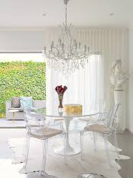 Tulip Table And Chairs Eero Saarinen Ghost Chairs Tulip Table And Room