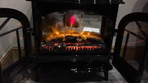 dimplex stockbridge skg20bln log effect coal bed electric stove