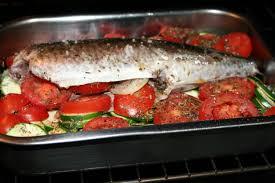 cuisiner le maquereau au four maquereau au four en provence aux courgettes et aux tomates