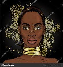 black girl earrings girl ornaments rings neck earrings beautiful black woman