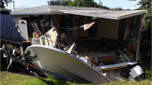 Boat A Home Sinkhole Swallows Part Of A Home In Florida Video News Ebl News