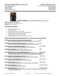 Warehouse Resume Template Download Sports Administration Sample Resume