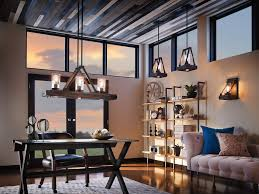 creating a warm cozy glow with lighting