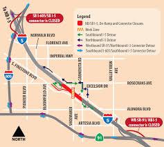 Caltrans Traffic Map Santa Ana I 5 Full Closure This Weekend Caltrans District 7