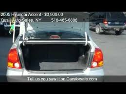 2005 hyundai accent value 2005 hyundai accent gls 4dr sedan for sale in albany ny 122