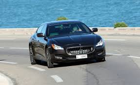 maserati black 4 door 2014 maserati quattroporte first drive u2013 review u2013 car and driver