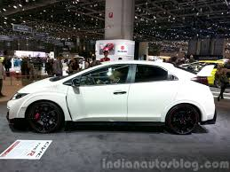 honda civic 2016 black 2016 honda civic type r at the 2015 geneva motor show