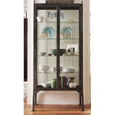 metal display cabinets you u0027ll love wayfair