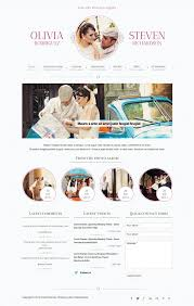Wedding Website Free Best Free U0026 Premium Wedding Website Templates Web Designer Hub