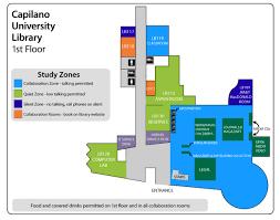 university library floor plan library maps capilano university