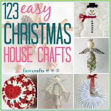 thanksgiving crafts for elderly 123 easy christmas house crafts favecrafts com