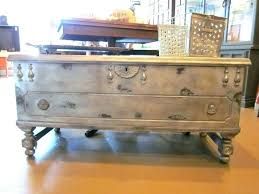 trunk coffee table diy old trunk coffee table diy trunk coffee table perfect for home decor