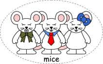 The Blind Mice Three Blind Mice Felt Board Characters