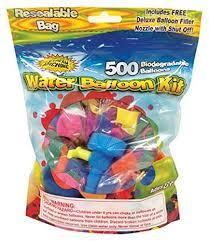 balloon bonanza water sports water balloon refill kit 500 pack toys
