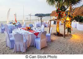 mariage thailande image de cérémonie koh samui île exotique dîner endroit