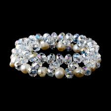 crystal pearl bracelet images Clear aurora borealis crystal pearl bracelet djb101 47 00 jpg